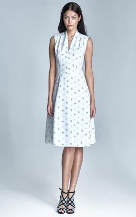 Sukienka Spring- ecru/beż