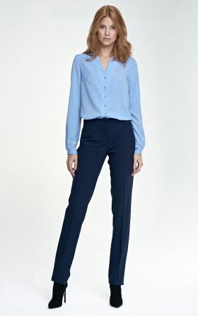 Eleganckie spodnie - granat