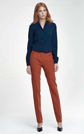 Eleganckie spodnie - rudy