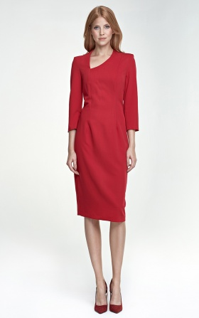 Sukienka Maddy - czerwony