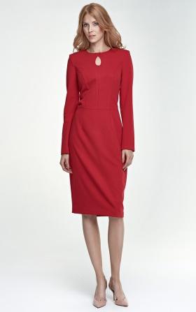 Sukienka Erin - czerwony