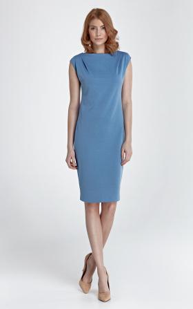 Sukienka Eva - niebieski