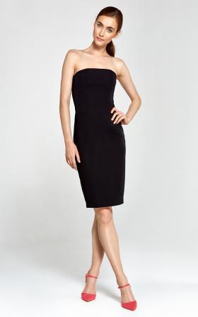 Sukienka tuba- czarny