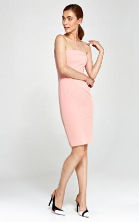 Sukienka tuba- róż