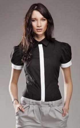 Koszula NEGATYW - czarny