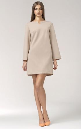 Sukienka Świtezianka - beż