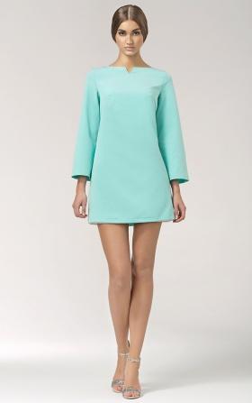 Sukienka Świtezianka - seledyn