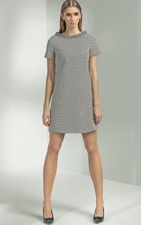 Sukienka trapezowa - wzór