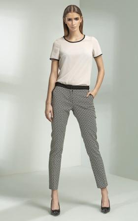 Klasyczne eleganckie spodnie - wzór