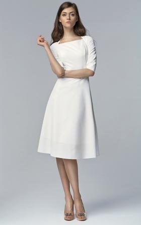 Classic Midi dress - ecru