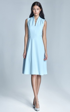 Spring dress - light blue