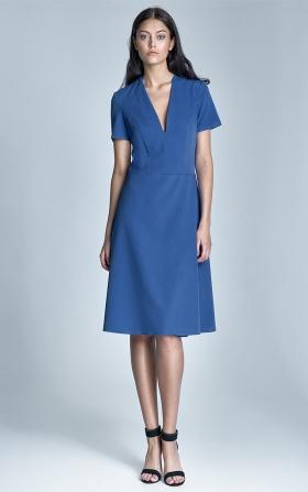 Sukienka Ginny - niebieski