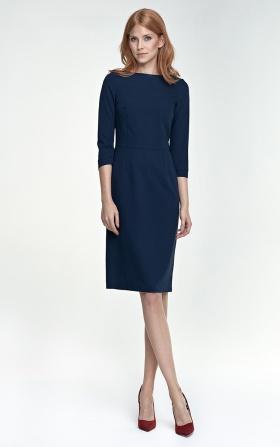 Tracy dress - navy blue