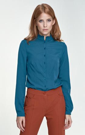Bluzka ze stójką - zielony
