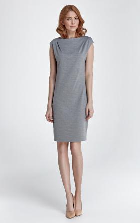 Szara sukienka Eva