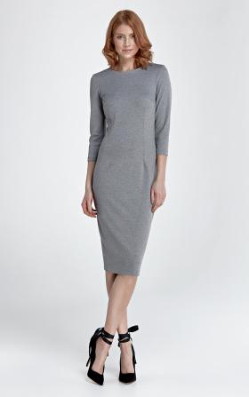 Sukienka Heidi - szary