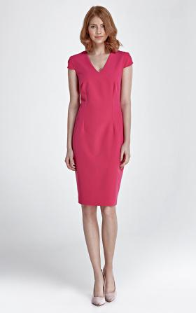 Sukienka Rosa - fuksja