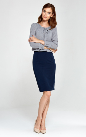 Pencil skirt - navy blue