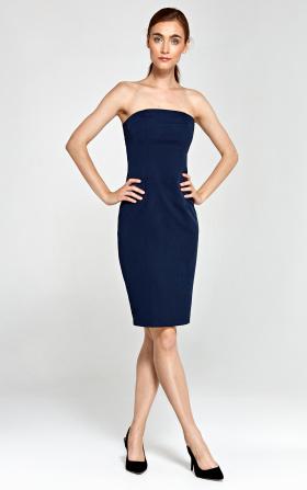 Tuba dress - navy blue