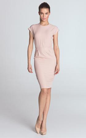 Sukienka ołówkowa - róż