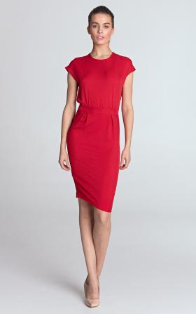 Sukienka ołówkowa - czerwony