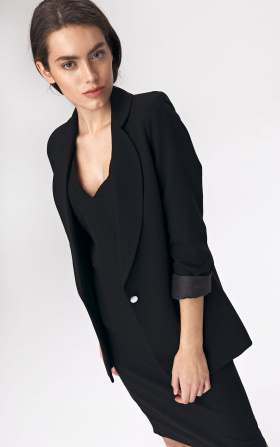 Oversize jacket - black
