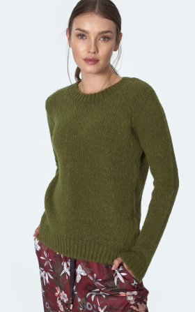 Classic green sweater