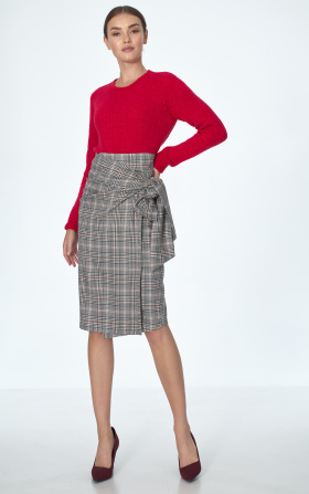 Original green chequered skirt