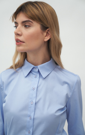 Classic light blue shirt