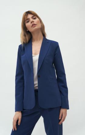 Classic cobalt jacket