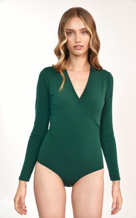 Zielona bluzka body