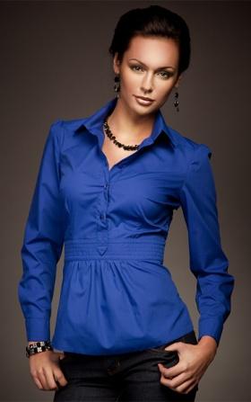Wyjątkowa koszula w modnym fasonie - royal