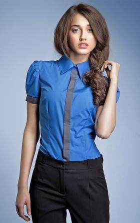 Koszula NEGATYW - niebieski